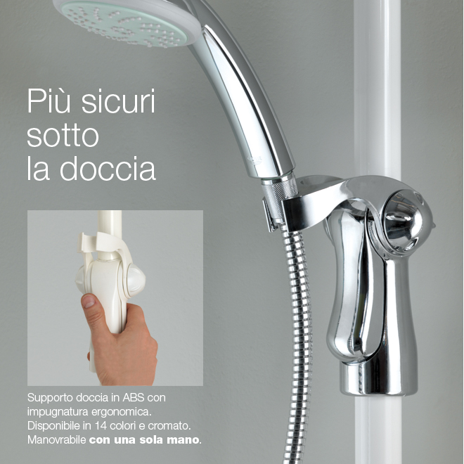 Ergonomic shower holder - Reggisoffione ergonomico