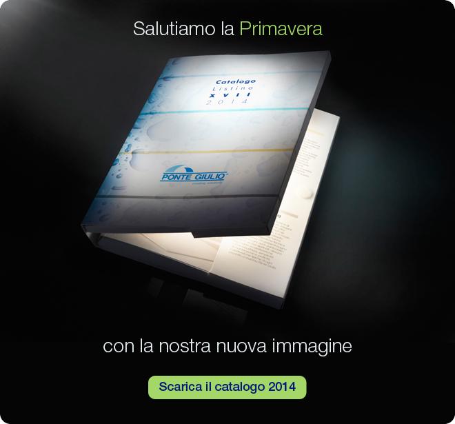 Nuovo Catalogo Ponte Giulio 2014