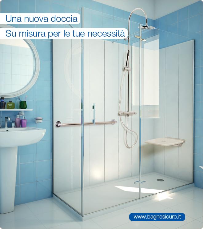 Una nuova doccia su misura per le tue necessità