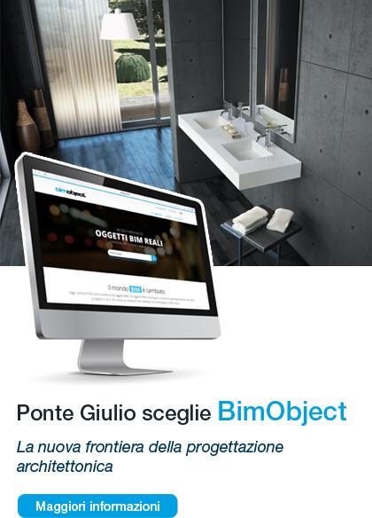 Ponte Giulio sceglie BimObject