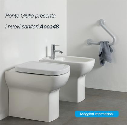 Ponte Giulio presenta i nuovi sanitari Acca48