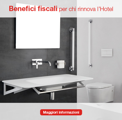 Benefici fiscali per chi rinnova l'hotel