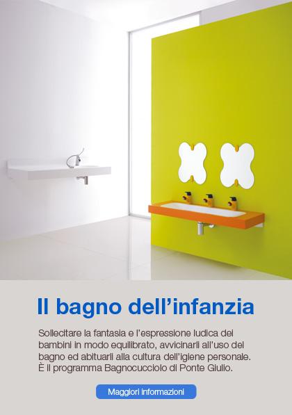 Il bagno dell'infanzia Ponte Giulio