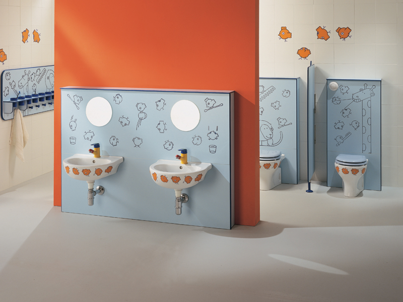 Sanitaryware, Accessories and Wall-set