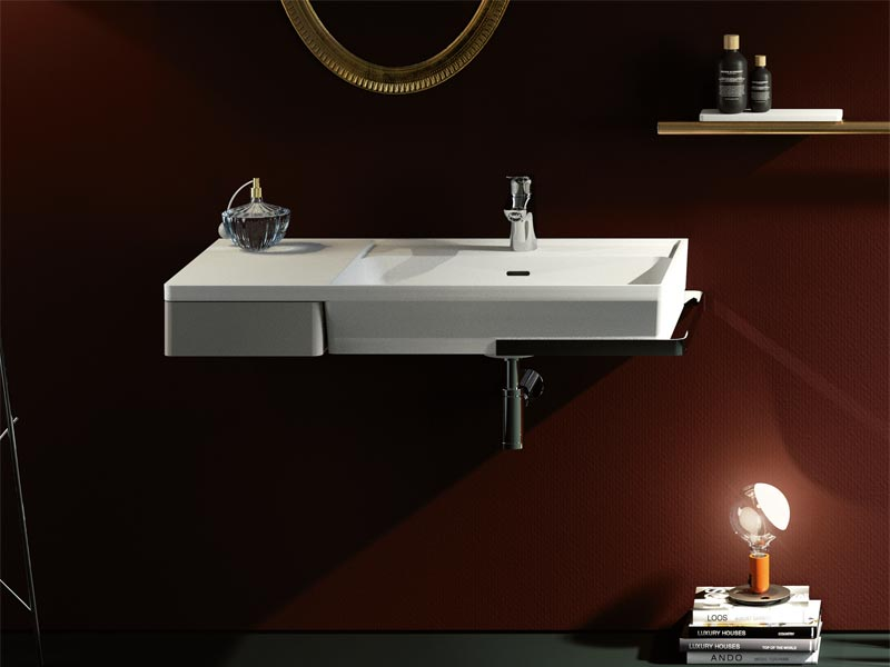 Washbasins and consoles