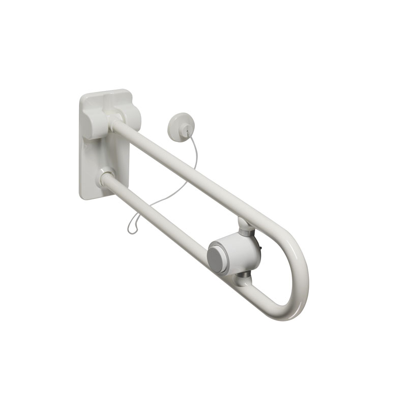 Draw Safety folding grab bar with pneumatic system G40JCS50