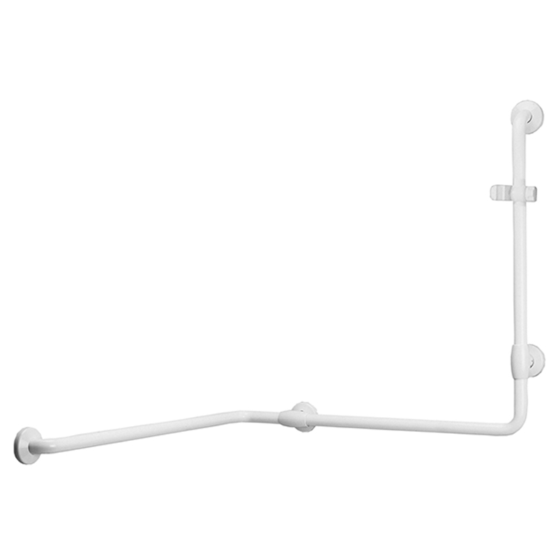 Draw Safety handrail for corner with vertical arm at one end G40JOS06