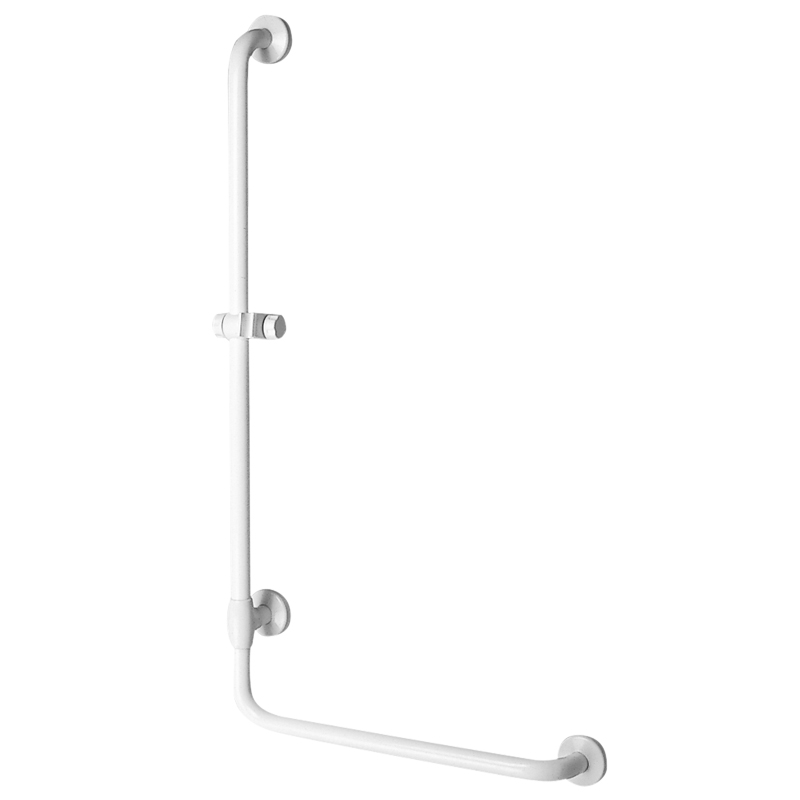 Safety grab bar with 90° corner
