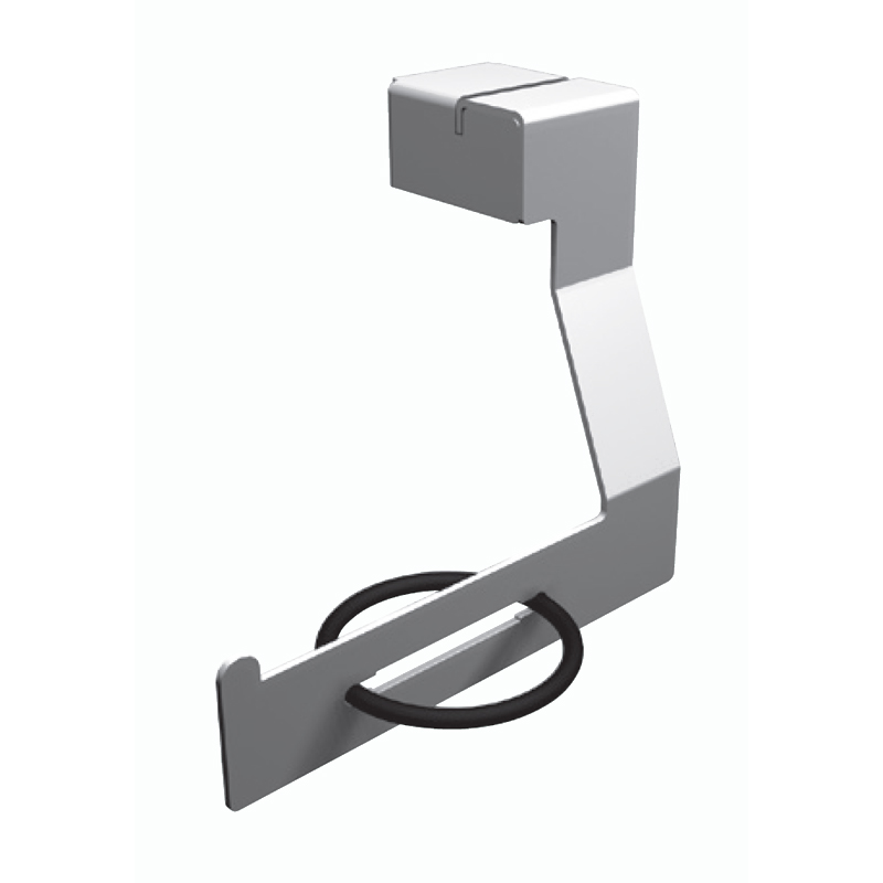 Toilet roll holder for wall fixing