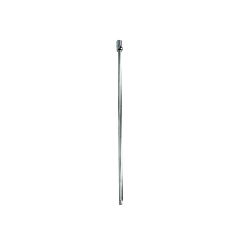 Ceiling support rod for shower rail