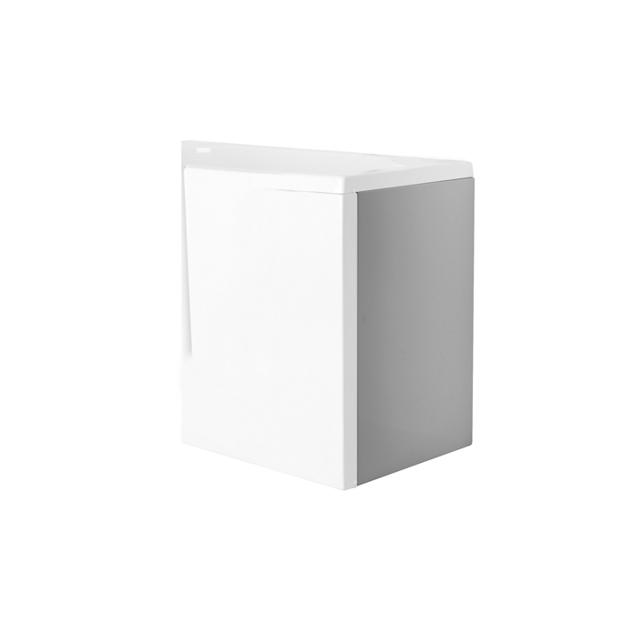 Side panel, RH, for bath tub with door