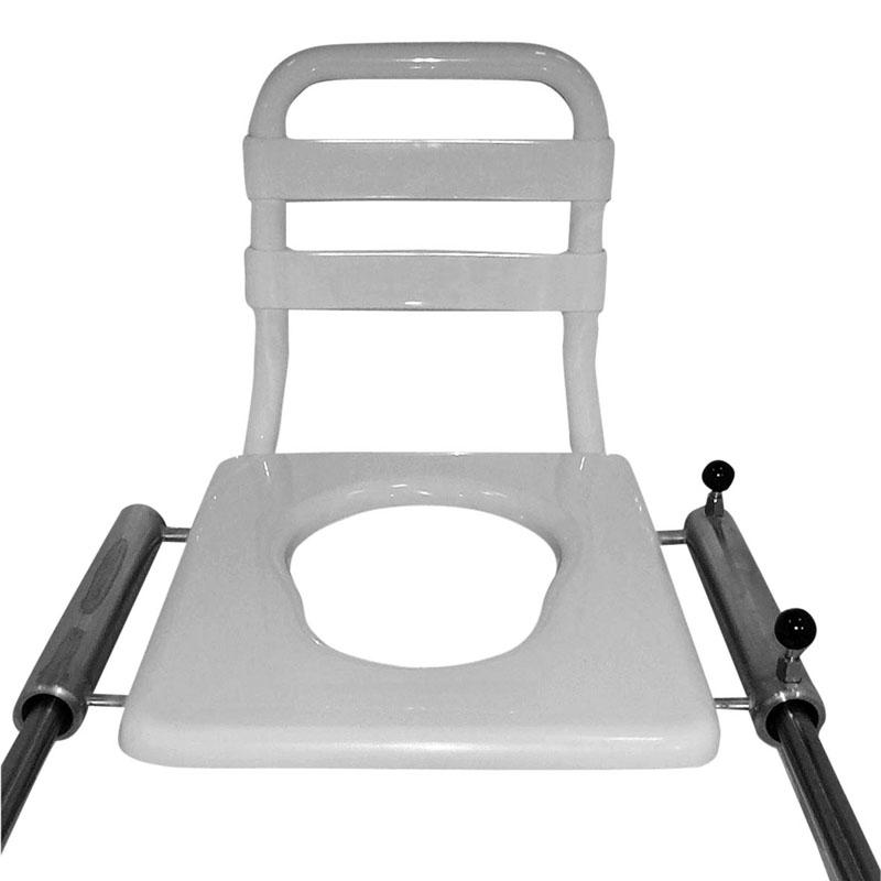 Sedile scorrevole con poggiaschiena