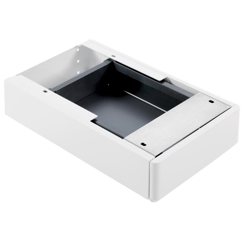 Single drawer for under-top basin installation