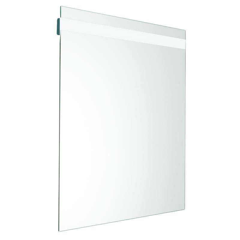 Mirror, 5 mm. thick, with integrated LED lighting system