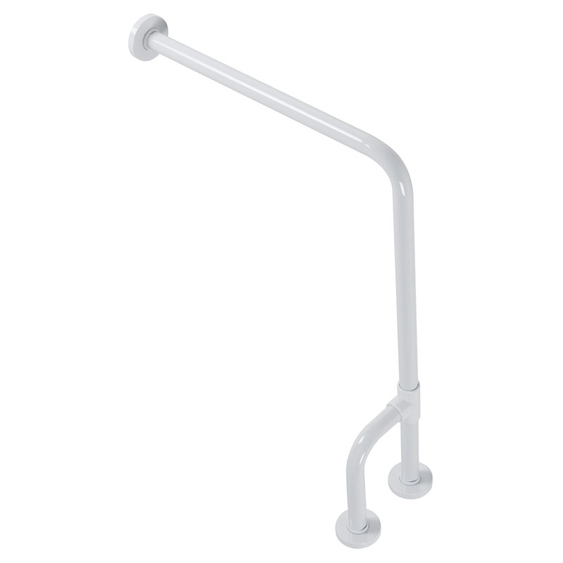 Draw Safety grab bar, wall to floor G01JCS38