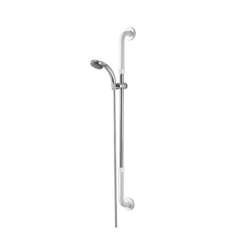 Maniglione di sicurezza verticale con porta doccetta