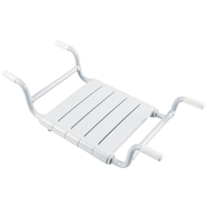 Bathtub seat, removable, slat