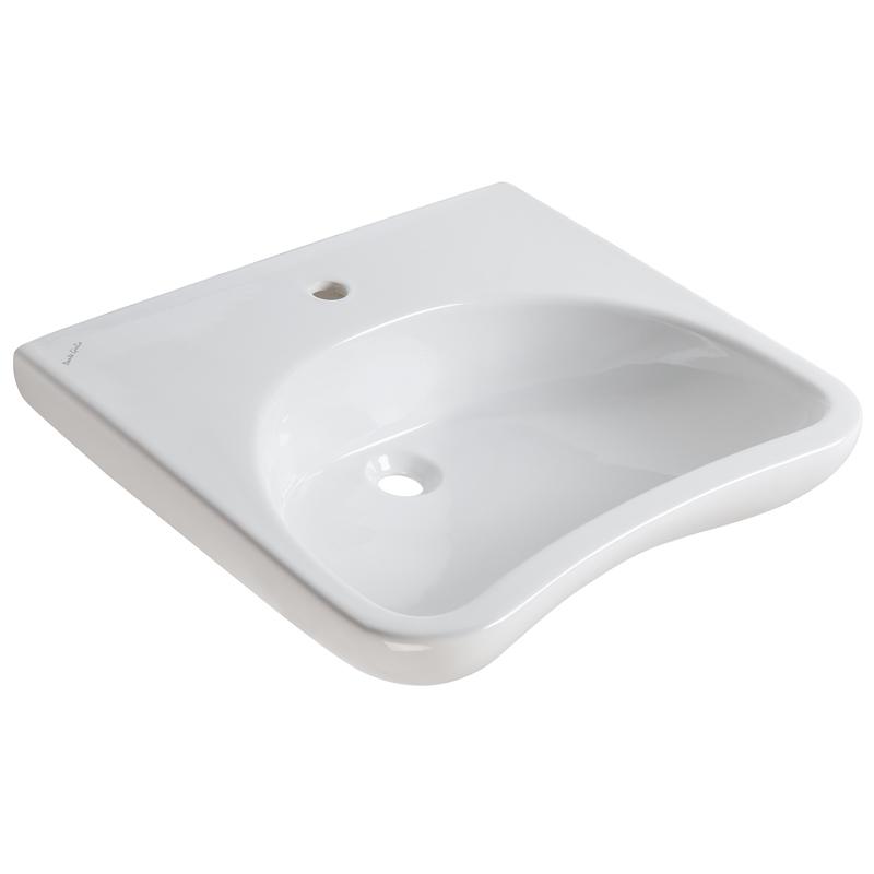 Lavabo ergonomico con poggia gomiti