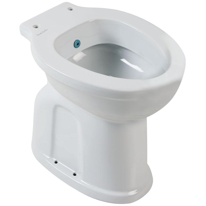 Vaso WC - bidet, scarico a pavimento