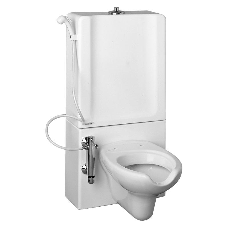 Modulo sanitario WC, sospeso, modello 310