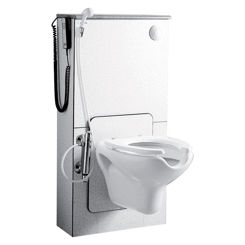 Disegno Modulo Sanitario WC, pneumatico ed elettrico B41EAS06