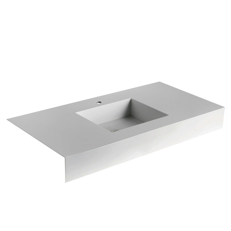 Wash basin top in acrylic stone - B46TLM45
