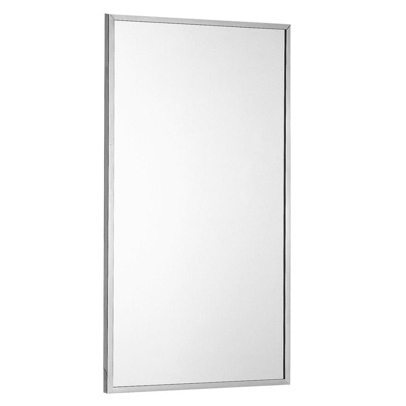 Specchio con cornice in acciaio inox - F70ATS04