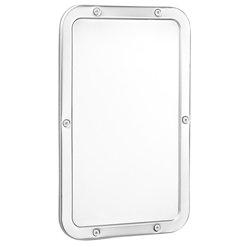 Bagnosicuro specchi ed illuminazione specchi ed - Lucidatura acciaio inox a specchio ...