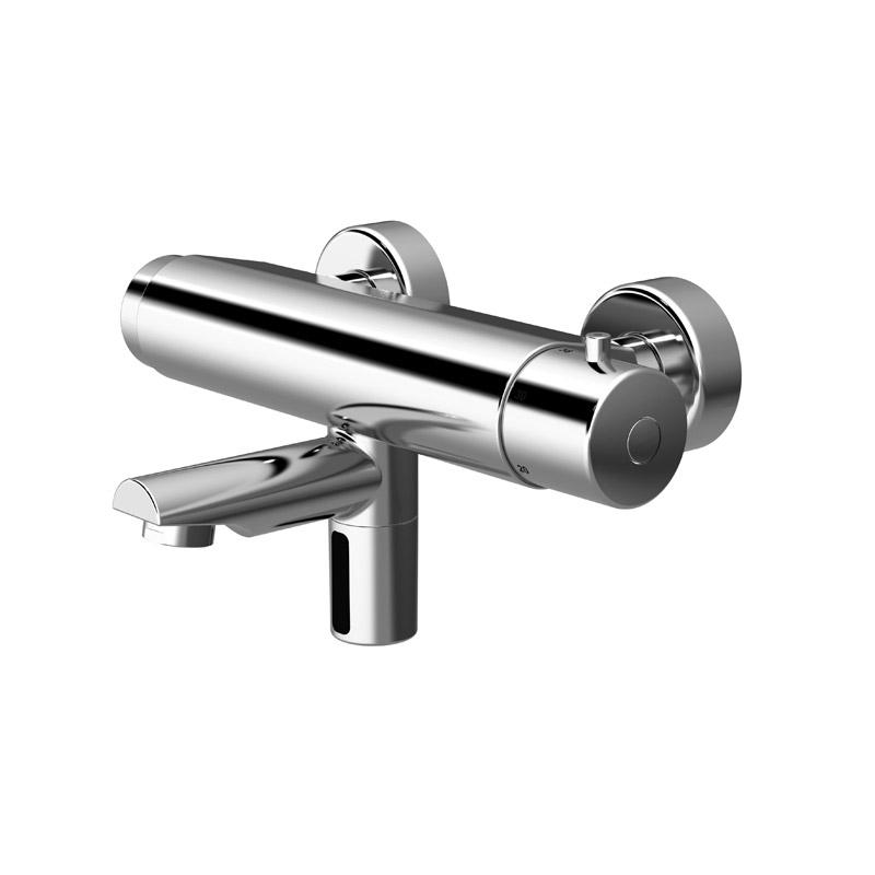 Disegno Miscelatore termostatico elettronico touch-free per lavello. H51GDE01