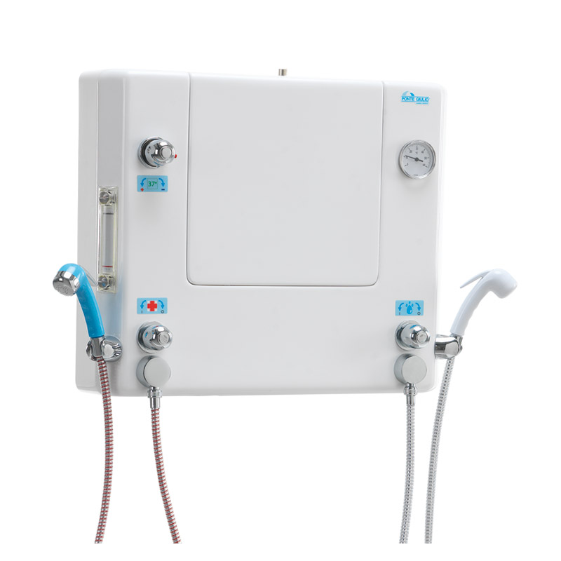Disegno Quadro di comando a muro con doccette per disinfezione e lavaggio M74MHS01