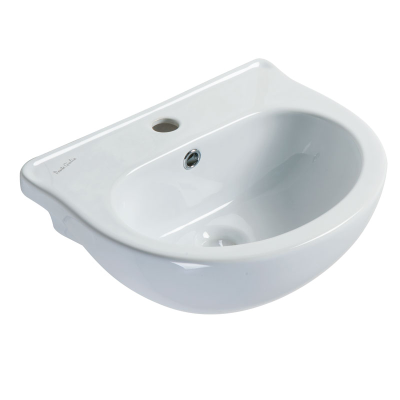 Draw Cantilevered wash basin for children use B44CMS01