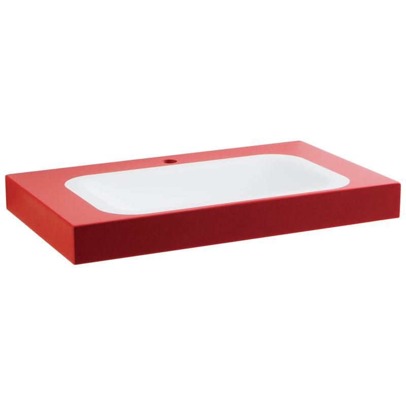 Draw Acrylic stone rectangular console B44CNM11