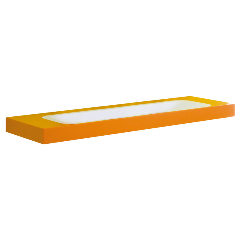 Acrylic stone rectangular console - B44CNM13