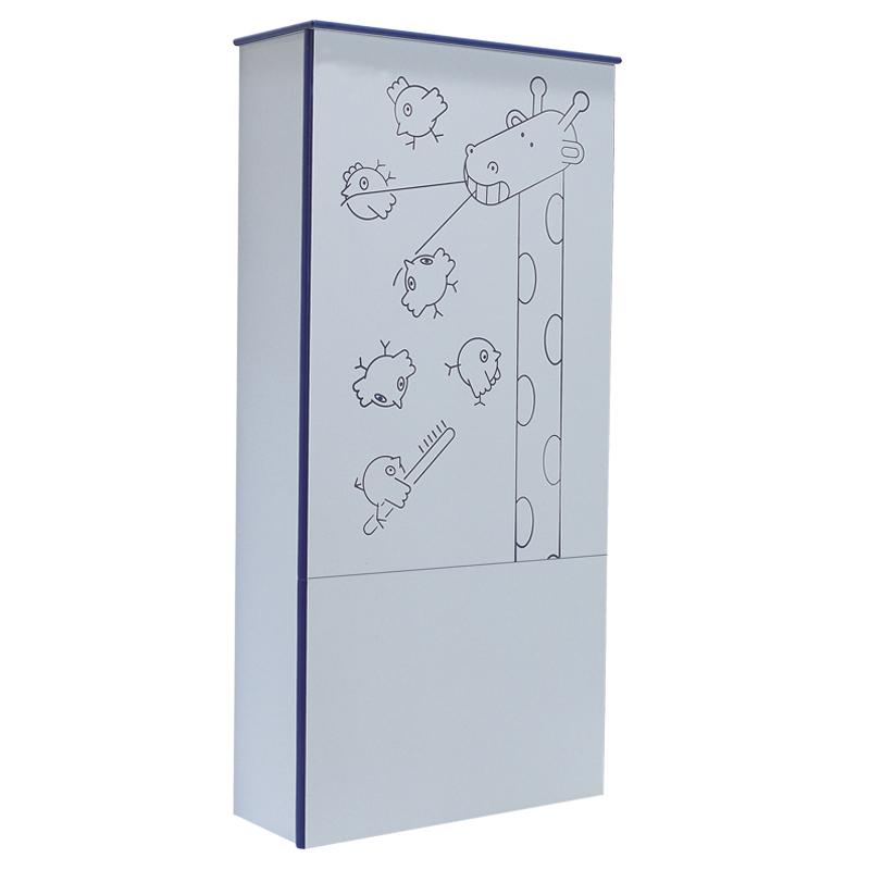 Modulo sanitario WC con decoro - B41EBD11