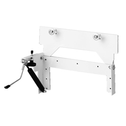 Pneumatic wash basin tilting device