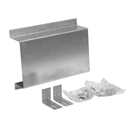 Mounting bracket for hung urinal
