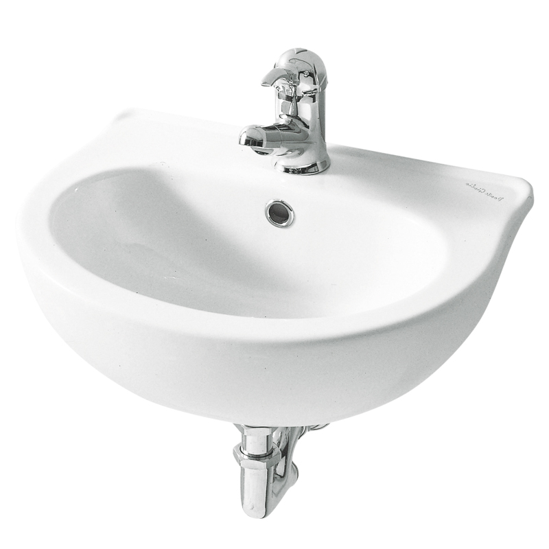 Cantilevered wash basin for children use