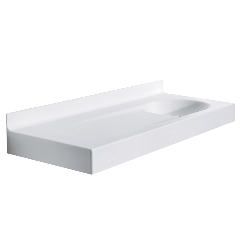 Wash basin top/baby changing unit