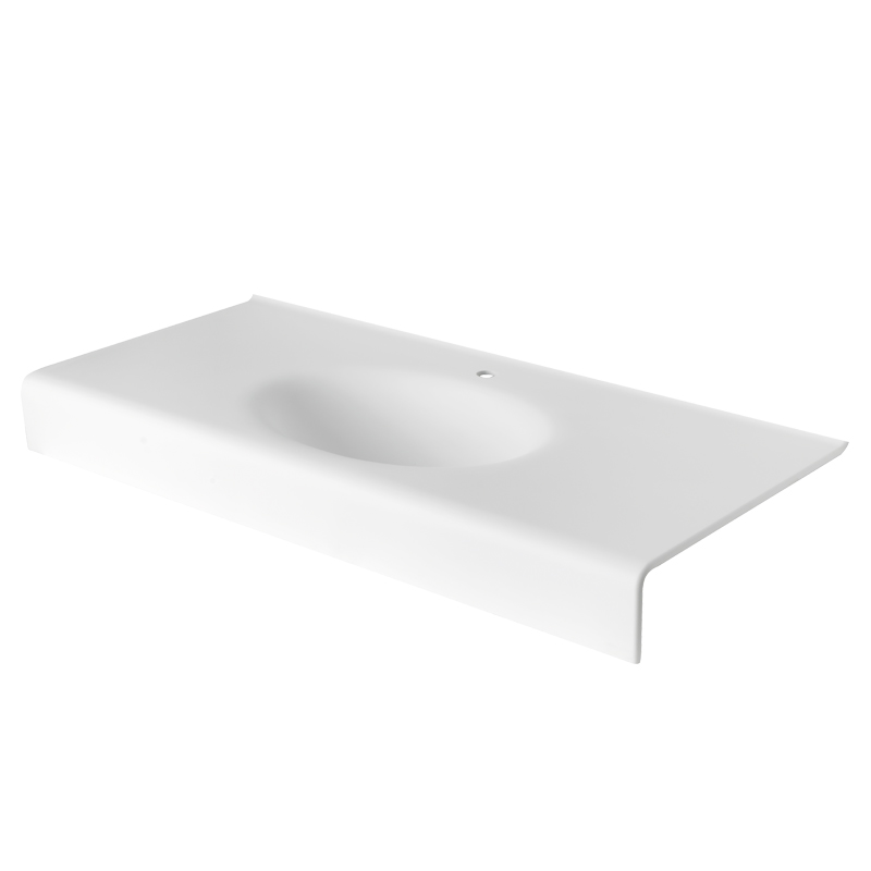 Acrylic stone vanity tob basin