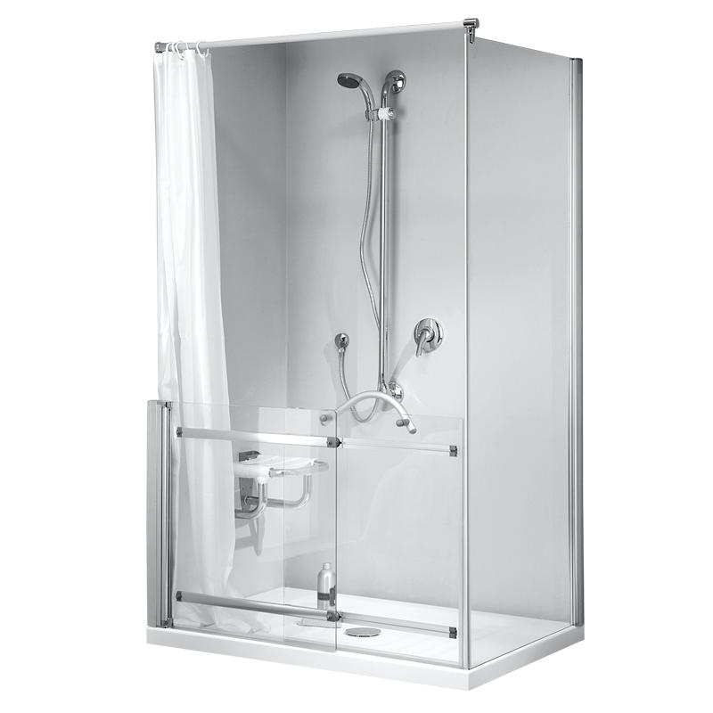 Box doccia per angolo