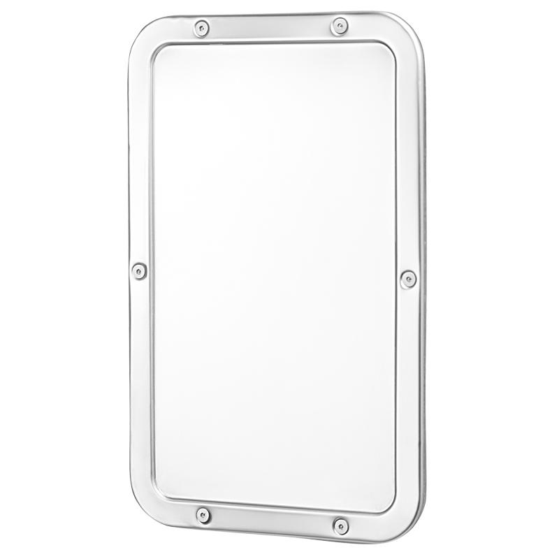 Specchio e cornice in acciaio inox - Lucidatura acciaio inox a specchio ...