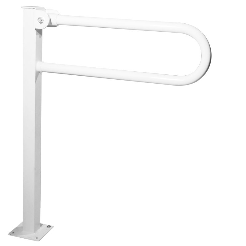 Folding_grab_bar_on_floor_mounted_pedestal-XG01JCS52