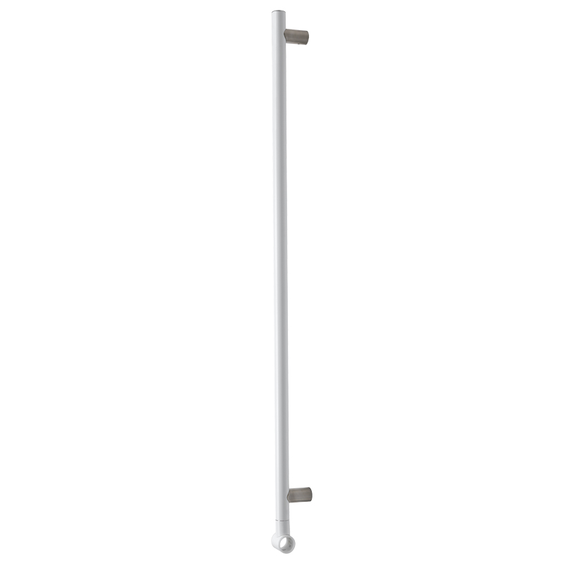 Vertical adjustable slider grab rail
