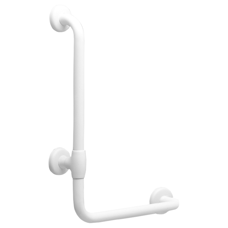 Safety corner grab bar 90°