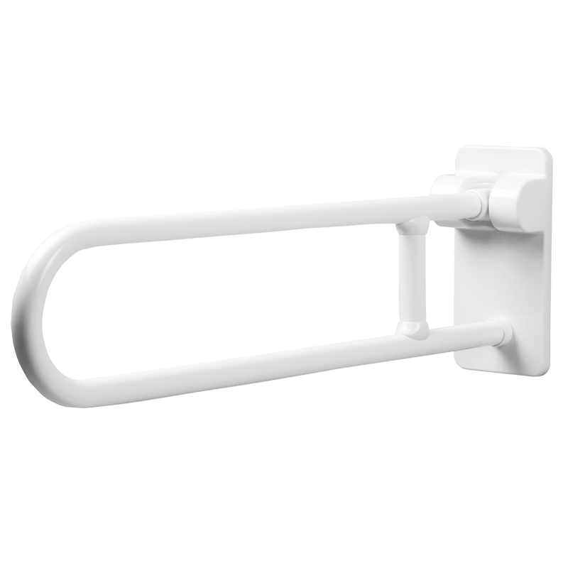 Safety folding side swivel grab bar
