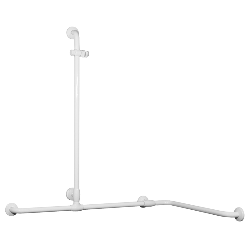 Draw Safety handrail for corner with vertical arm G40JOS04