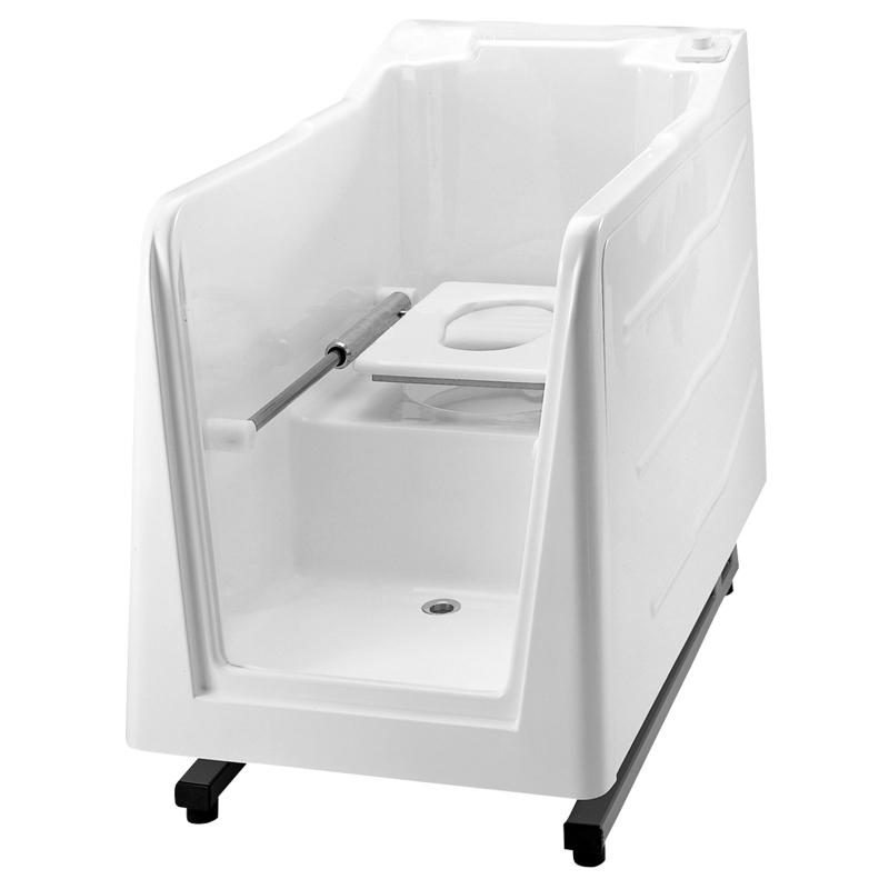 Cabina doccia con wc e senza quadro di comando incorporato