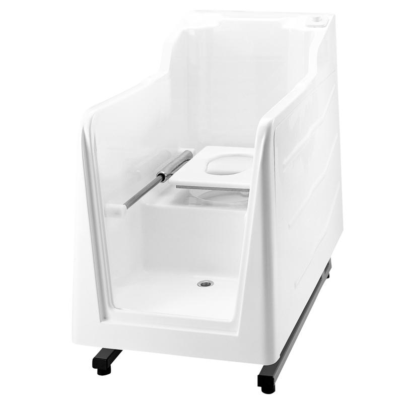 Disegno Cabina doccia ispezionabile con wc e senza quadro di comando incorporato M74MCS05