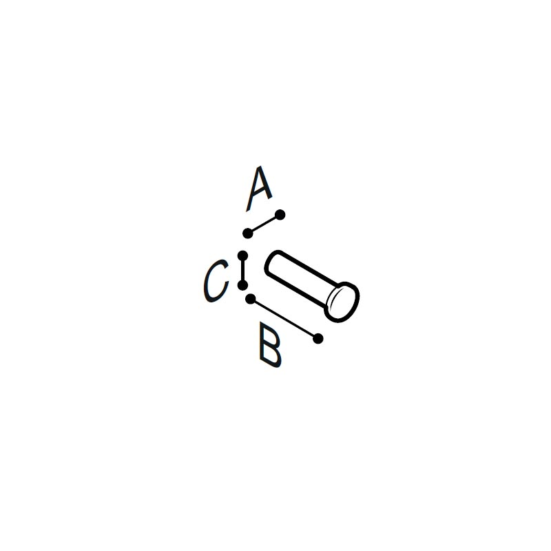 Disegno Porta rotolo Disegno Tecnico F18AGS03