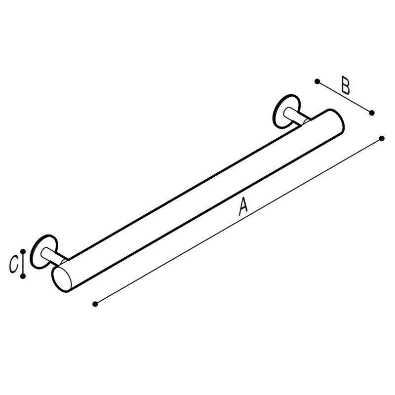 Disegno Maniglia di sicurezza Disegno Tecnico G99UAS03